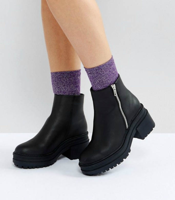 ASOS RAPID Chunky Ankle Boots