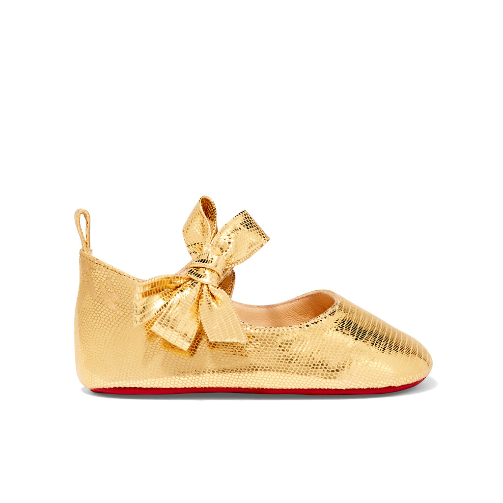 christian louboutin baby shoes goop