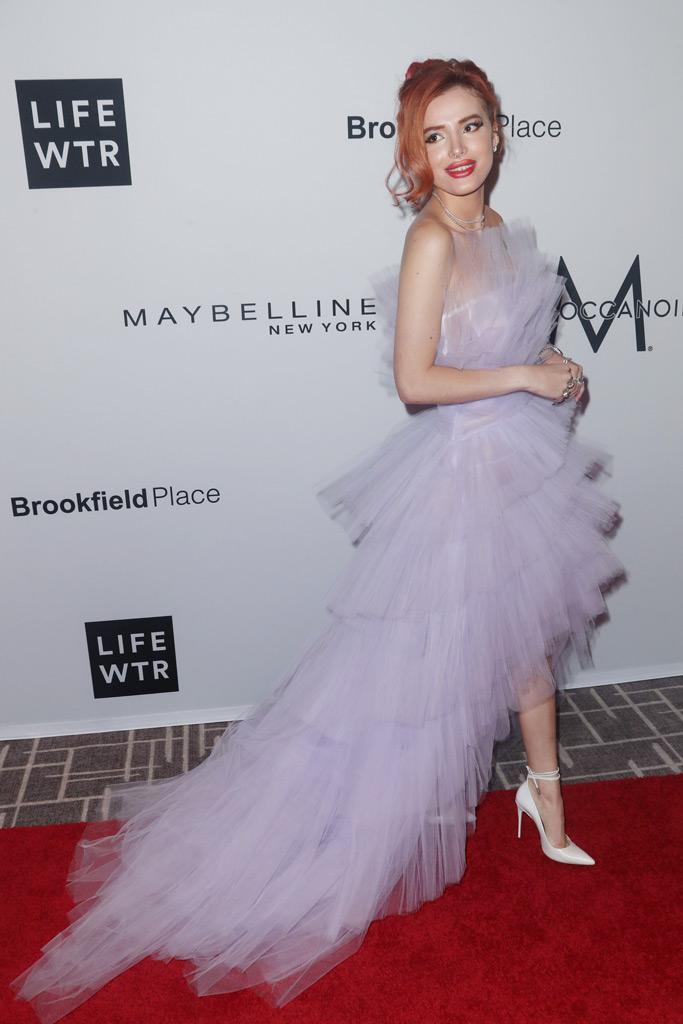 Bella Thorne, New York Fashion Week spring 2018