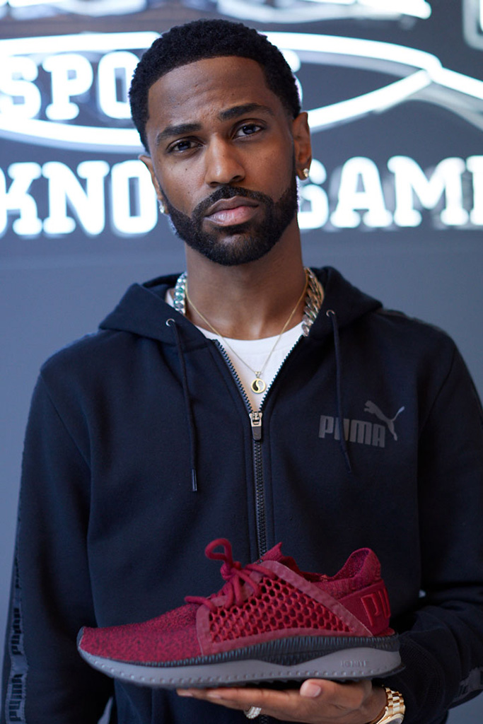 big sean, puma, champs sports, tsugi