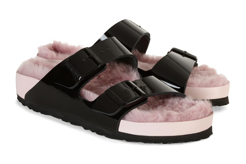 Furry Arizona Sandals – Footwear News