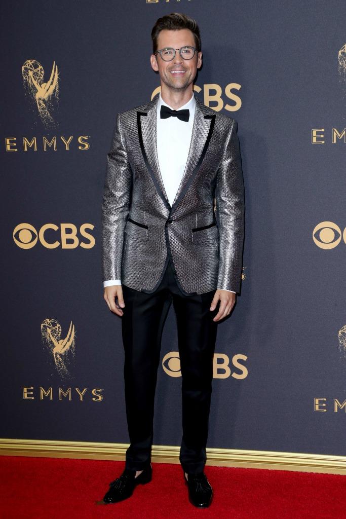 Brad Goreski at the 69th Emmy Awards.