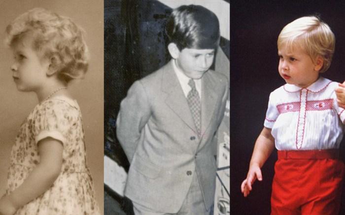 British Royal Family as Kids