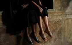 Sergio Rossi: Spring '18 Milan Fashion Week