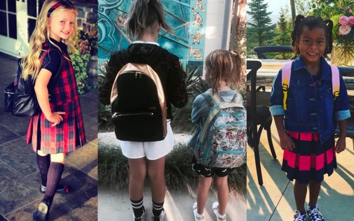 Celebrity Kids Head Back to School
