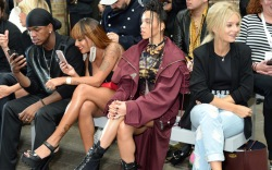 Versus Versace Spring 2018: Front Row Celebrities