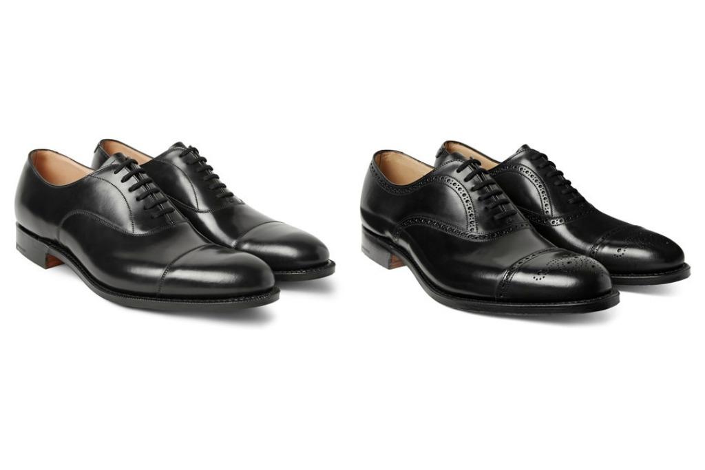 Church's Dubai Polished-Leather Oxford Shoes, Church's Toronto Cap-Toe Leather Oxford Brogues