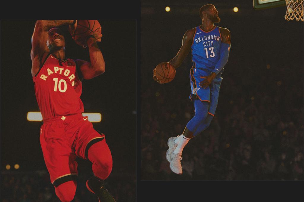 DeMar DeRozan Paul George Nike NBA Jersey