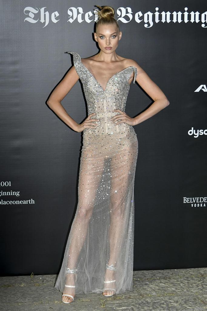 Elsa Hosk, Milan Fashion Week