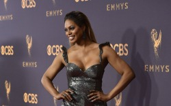 Laverne Cox at the 69th Emmy