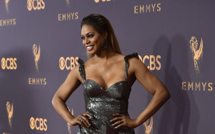 Laverne Cox at the 69th Emmy Awards