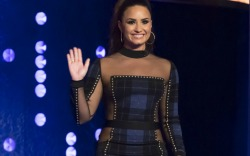 Demi Lovato at 'The Jonathan Ross