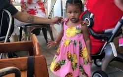 Teyana Taylor's daughter's Dolce & Gabbana