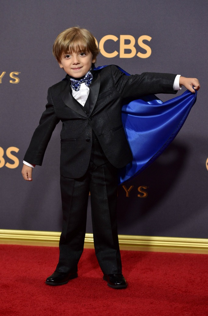 Jeremy Maguire, emmy awards red carpet