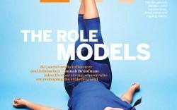 Hannah Bronfman Footwear News Cover