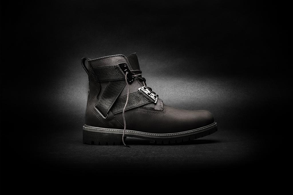 Timberland Volume VIII all-black 6-inch Premium Strap Boot