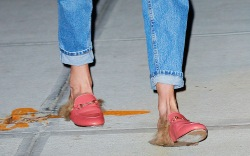 Celebrities in Gucci Mules/Loafers
