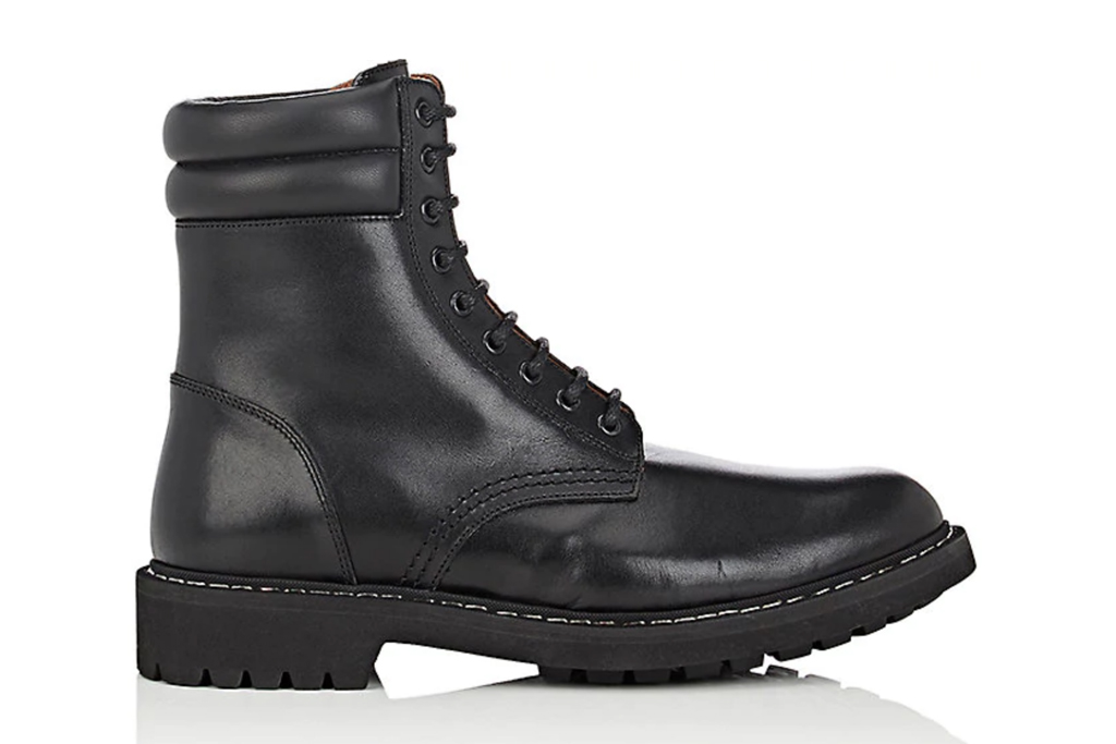 Givenchy Leather Combat Boot