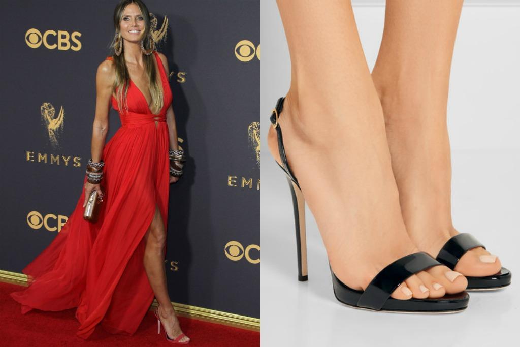 Giuseppe zanotti Sophie patent-leather slingback sandals