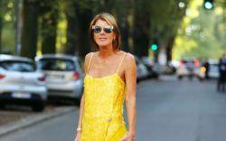 Anna Dello Russo at Milan Fashion