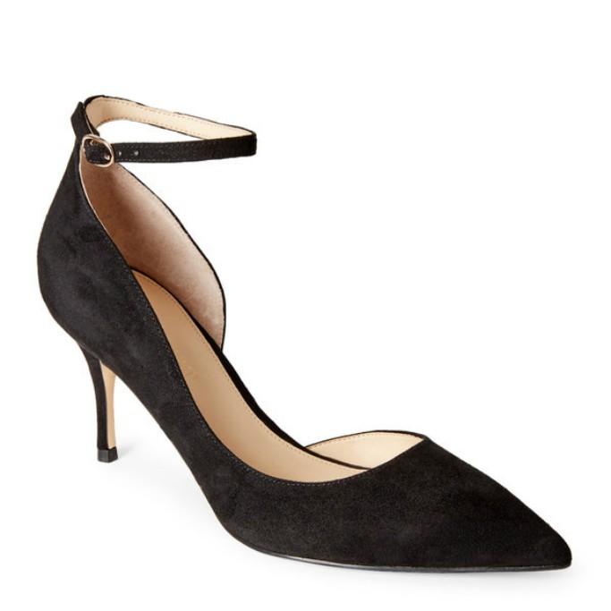 Ivanka Trump Brita ankle strap d'Orsay pump