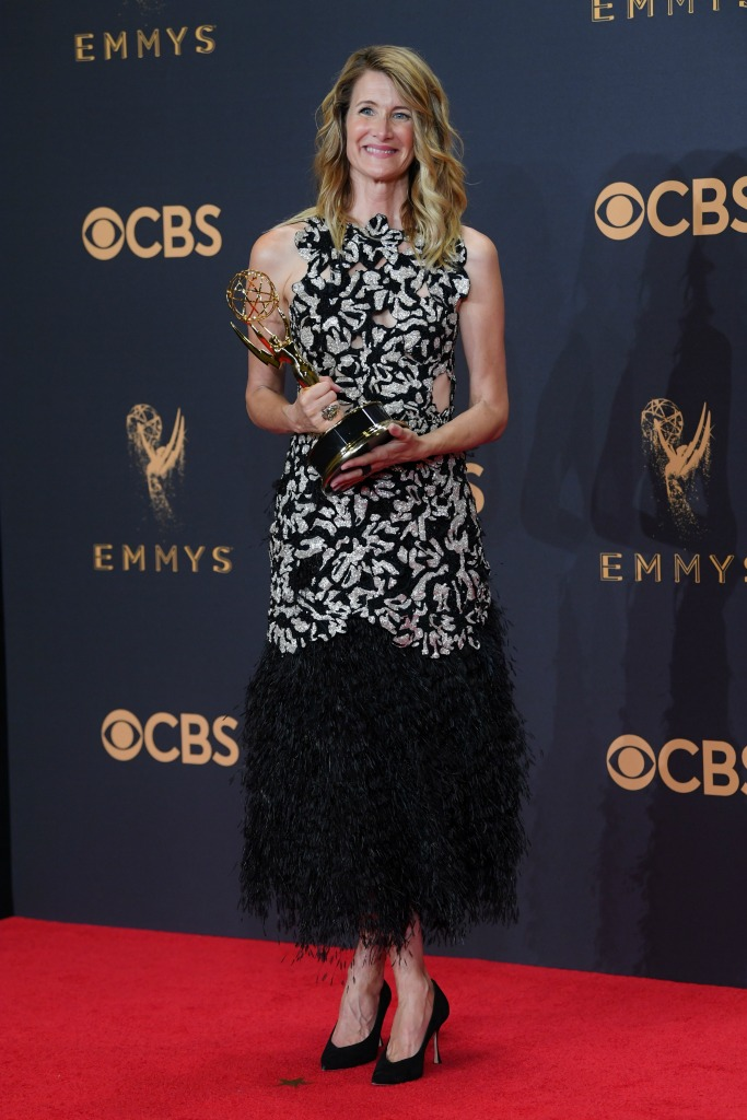 Laura Dern at the 69th Emmy Awards