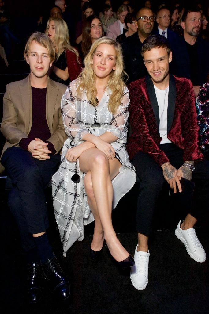 emporio armani, Tom Odell, Ellie Goulding, Liam payne, london fashion week