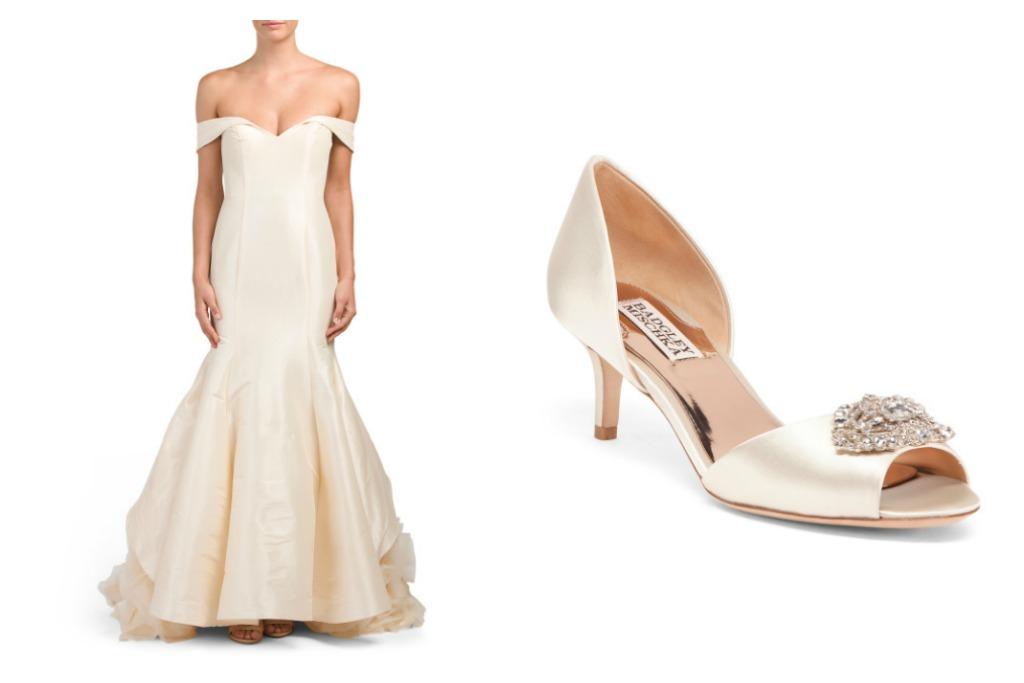 TJ Maxx's Bridal Wedding Dress Shop Has