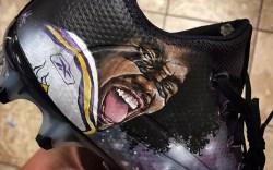 Stefon Diggs Nike cleats Mache NFL
