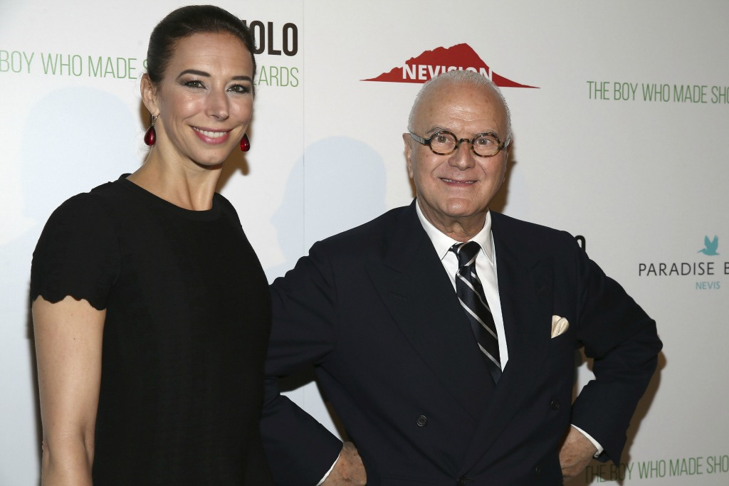 Manolo Blahnik, The Boy Who Made Shoes for Lizards, Film Premiere