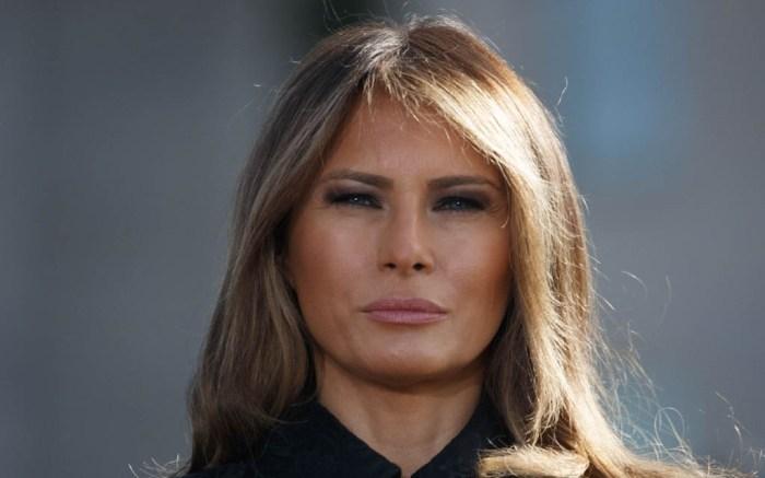 President Trump and Melania Trump on White House lawn 9/11