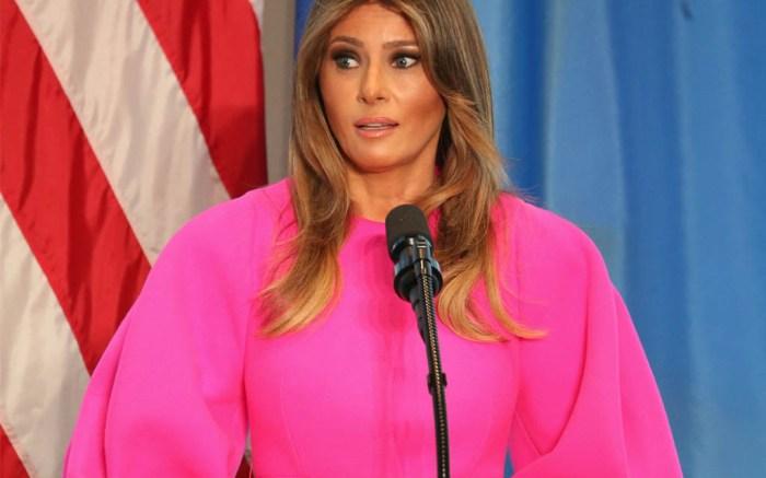 melania-trump-pink-dress-un