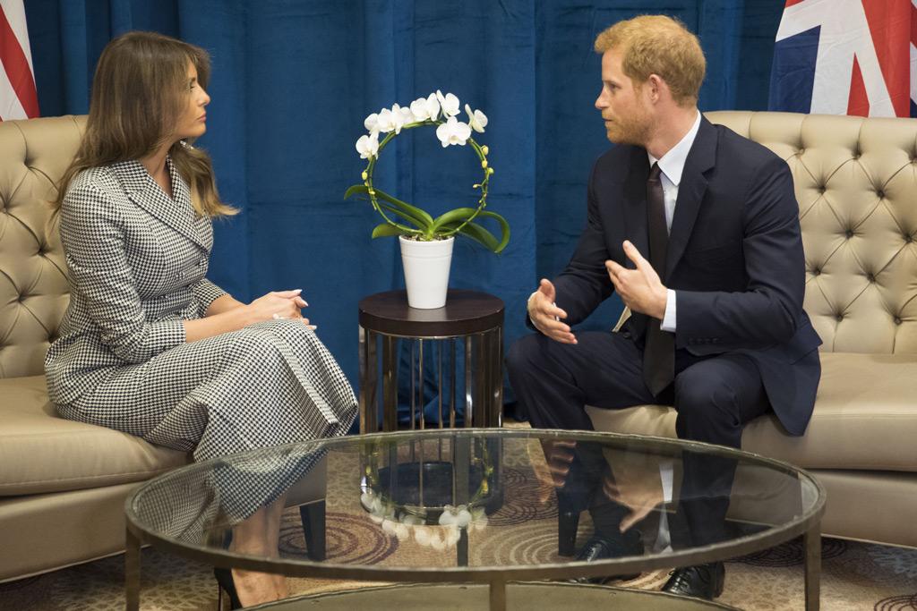 Melania Trump & Prince Harry