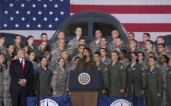 Melania Trump Style: Military Families