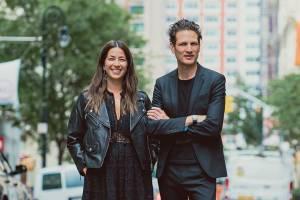 Rebecca and Uri Minkoff in Footwear News
