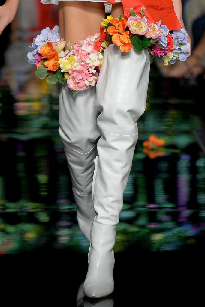 moschino spring 2018, milan fashion week