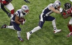 New England Patriots Cleats From Super Bowl LI