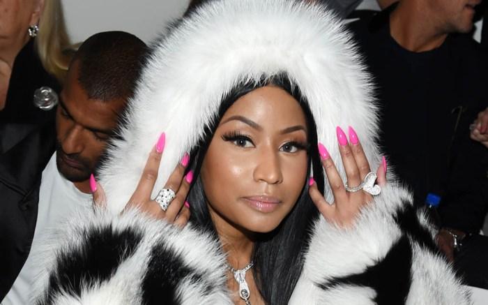 Nicki Minaj Oscar de la Renta