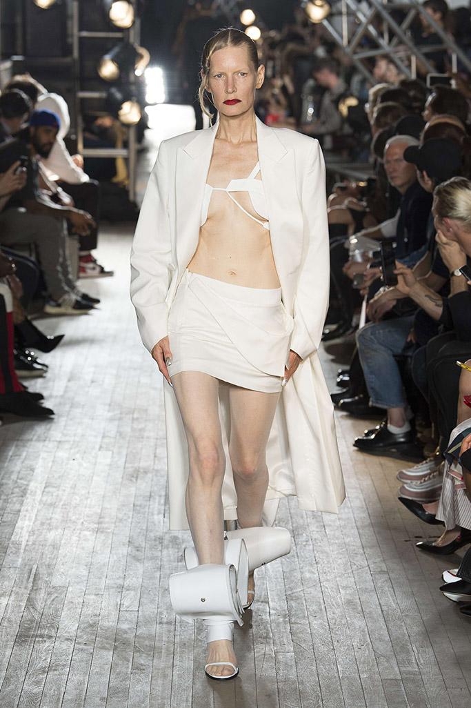 helmut lang, new york fashion week, crazy shoes