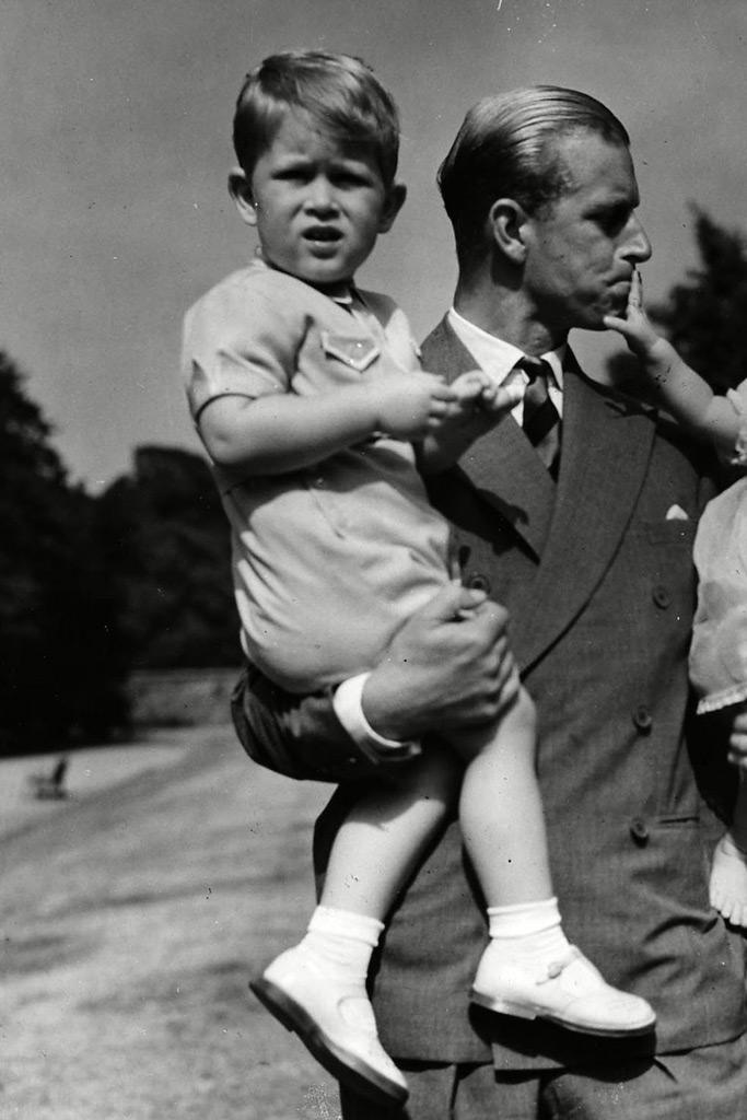 Prince Charles, young boy, prince phillip