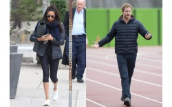 Prince Harry & Meghan Markle's Coordinated Style