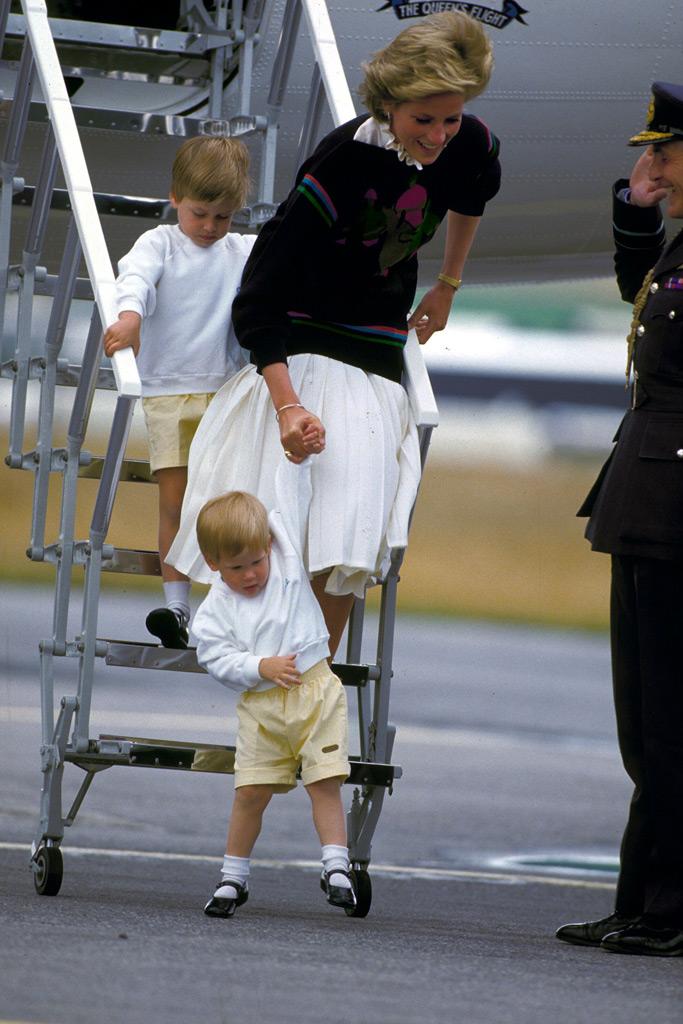 prince harry, toddler, princess diana