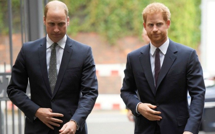 Prince William and Prince Harry Support Grenfell
