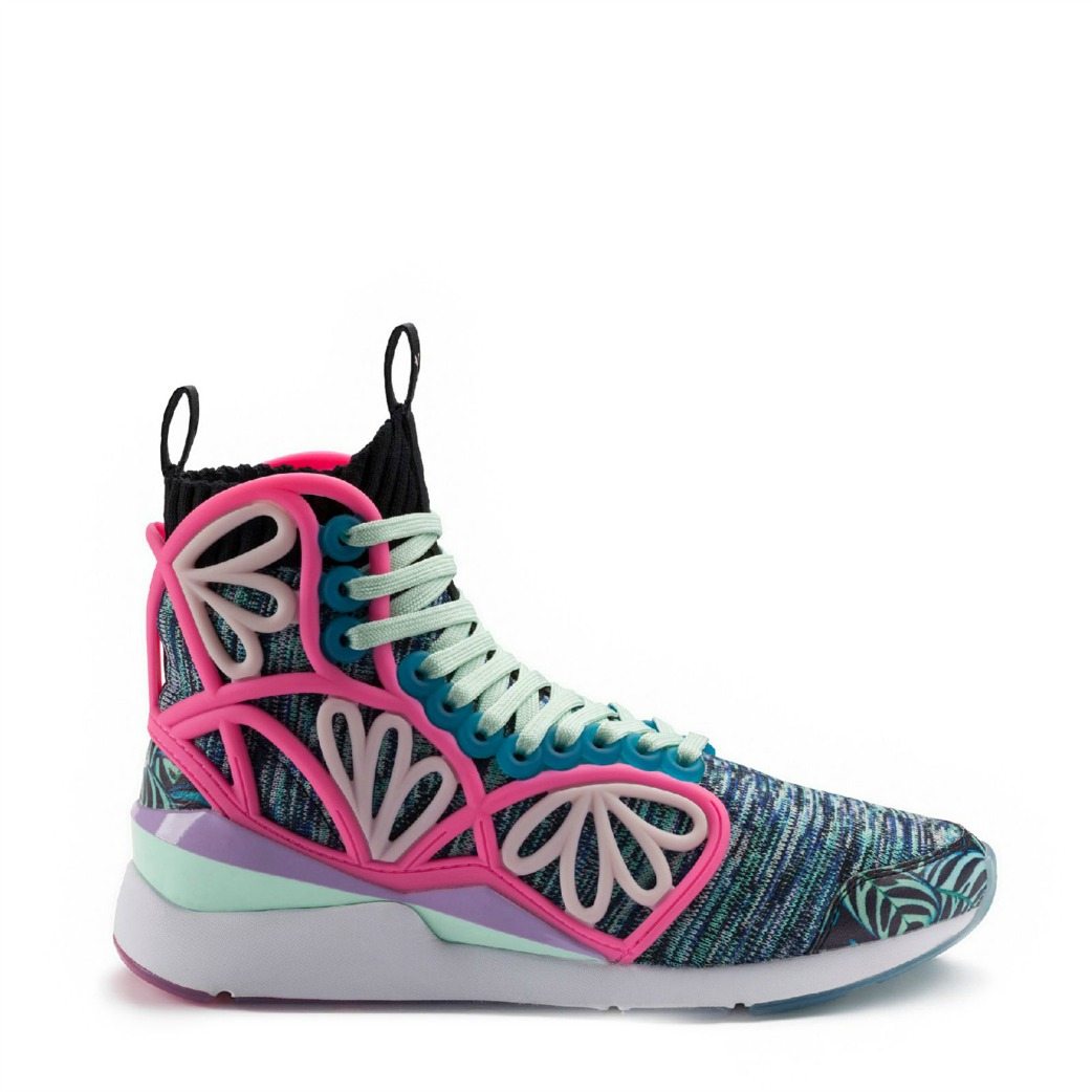 puma-x-sophia-webster pearl cage high top