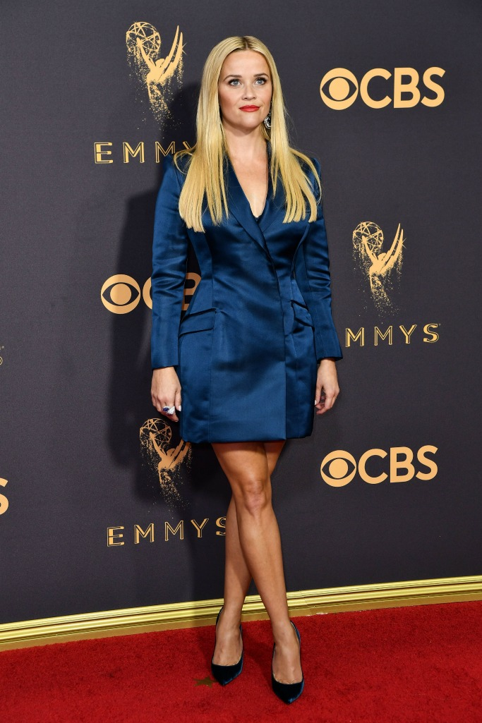 reese witherspoon, emmys red carpet
