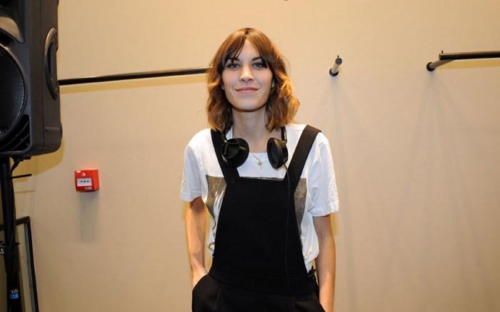 Alexa Chung (DJ)Sandro store launch party, London, Britain - 25 Nov 2010