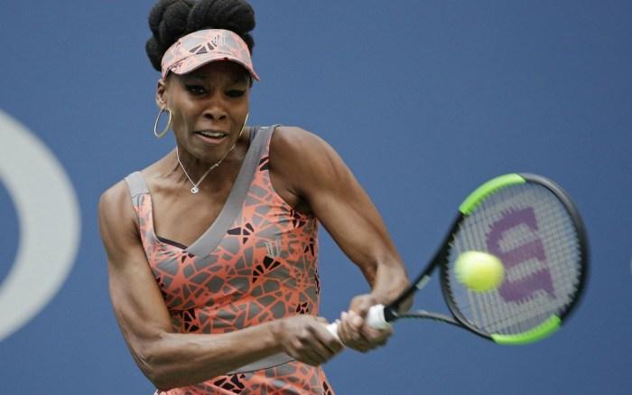 Venus Williams at the 2017 U.S. Open