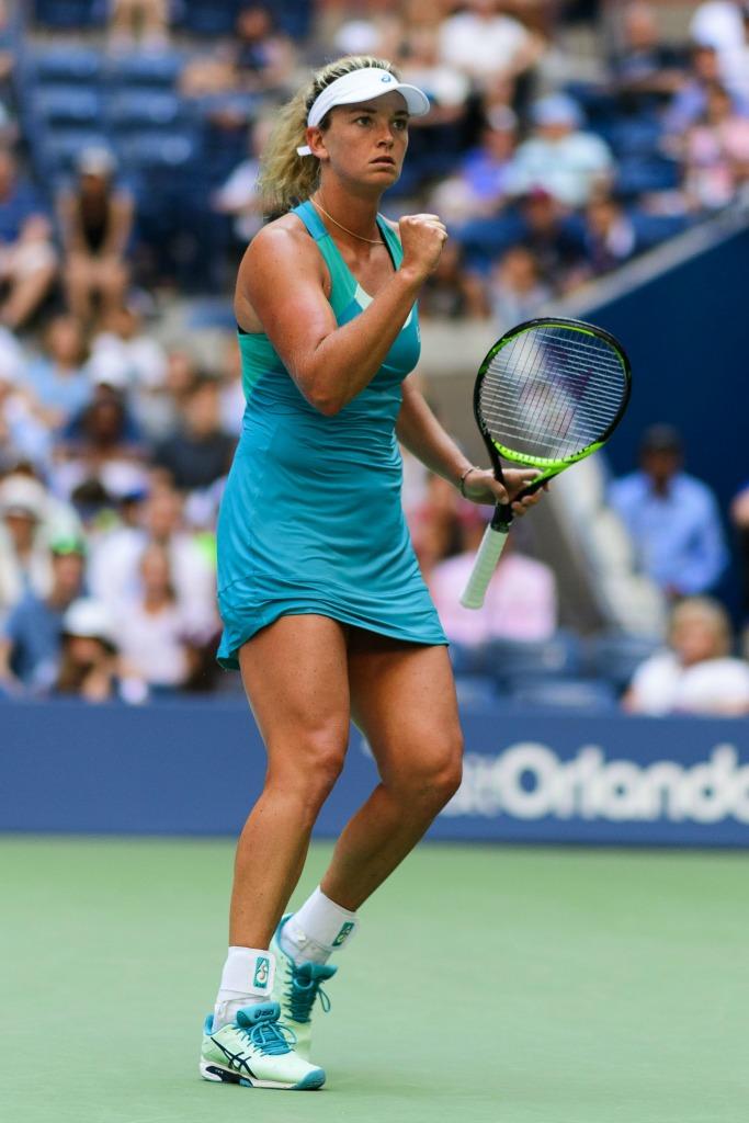 Coco Vandeweghe at the 2017 U.S. Open