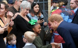 Princes William and Harry Meet Members of the Grenfell Community