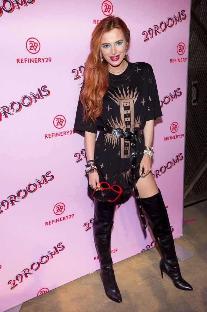 bella thorne, 29rooms new york fashion week